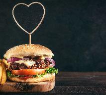 Domowe burgery Burgelove - przepis na Walentynki i nie tylko!