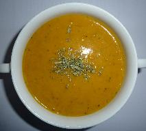 Francuska zupa krem - przepis na danie wegetariańskie
