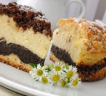 Makowiec serowy - połączenie dwóch tradycyjnych ciast