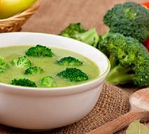 Zupa krem z brokułów z włoską nutą