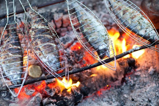 Pstrąg w kratkę z grilla - sprawdzony przepis