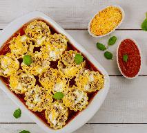 Roladki lasagne z mielonym mięsem i serem ricotta: efektowne i pyszne