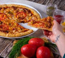 Orkiszowa pizza na cieście typu graham - bez mleka, jaj i pszenicy modyfikowanej