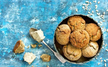 Ciasteczka z chałwą - 10 minut pracy, dużo przyjemności