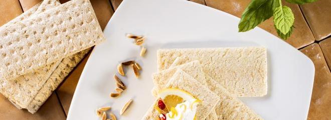 Chrupiący chlebek z serkiem cytrynowym: przepis na kinderbal